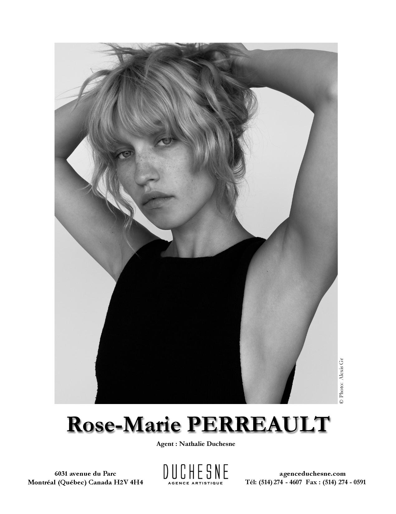 Rose Marie Perreault Cv Agence Artistique Duchesne